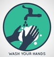 Hand Wash vector image