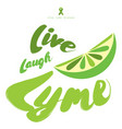stop lyme disease flat poster design with green vector image