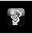 camera phone icon vector image vector image