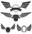 wings set2 vector image