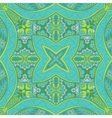 spring green seamless colorful Geometric print vector image