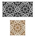 Arabic seamless ornament in retro style vector image