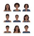african american women vector image