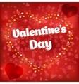 Design card Love heart vector image