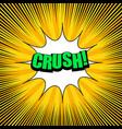 bright comic explosive background vector image