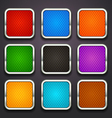 background for the app icons-part 5 vector image