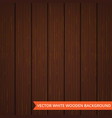 brown wood planks as texture and background vector image