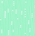 green mint background pattern vector image