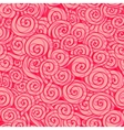 Pink seamless wave pattern Seamless background can vector image