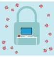security virus malware attack vector image