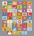 Alphabet for kids vector image