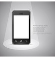Smart phone design vector image vector image
