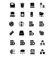 Database and Server Icons 2 vector image