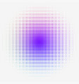 colorful halftone dotted gradation vector image