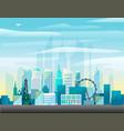 Modern cityscape vector image