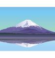 Mt Fuji vector image