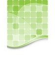 Green abstract background template vector image