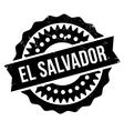 El Salvador stamp vector image