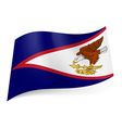 Flag of American Samoa vector image