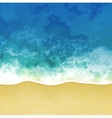 sea beach background vector image
