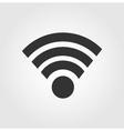 Wi fi icon flat design vector image
