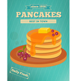 pancakes vector image