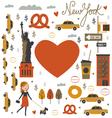 NYC print vector image