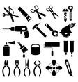 tool symbols vector image vector image