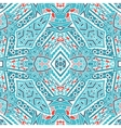 winter tracery seamless colorful Geometric print vector image