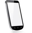 Touchscreen 3d smartphone concept vector image