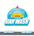 Car wash icons set isolated on white vector image