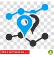 Geo Trends Eps Icon vector image
