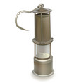 old miners lamp vector image vector image