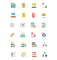 Database and Server Colored Icons 2 vector image