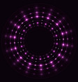 abstract violet round frame vector image
