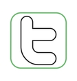 Twitter II vector image