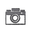 photo camera flash lens image vector image