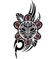Taino Sun Tribal vector image