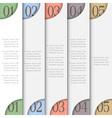 Creative design template vector image vector image