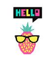 cute summer card vector image