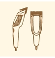 Hair clippers implements vector image