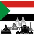 Sudan vector image vector image