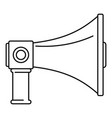communication equipment icon outline style vector image