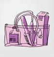 vacation bag vector image