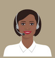 african american woman vector image
