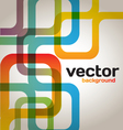 Colorful Abstract Lines vector image vector image