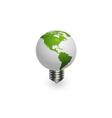 Global lamp vector image