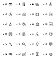Financial Responsive Icons 1 vector image