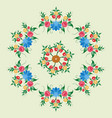 russian national circular ornament for use on vector image