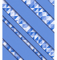 mosaic and ribbons vector image
